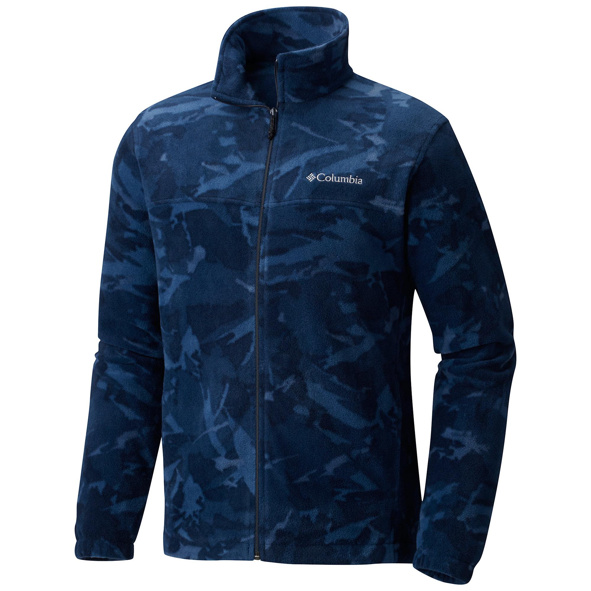 photo: Columbia Steens Mountain Print fleece jacket