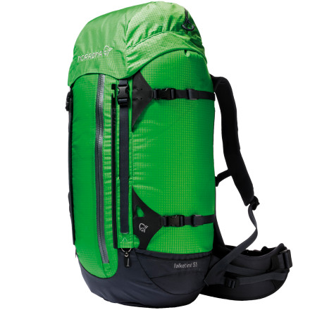 photo: Norrona Falketind Spring Steel Pack 55L weekend pack (3,000 - 4,499 cu in)