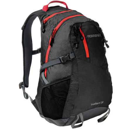 photo: Norrona Svalbard Pack 30L daypack (under 2,000 cu in)