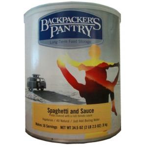 Backpacker's Pantry Spaghetti & Sauce