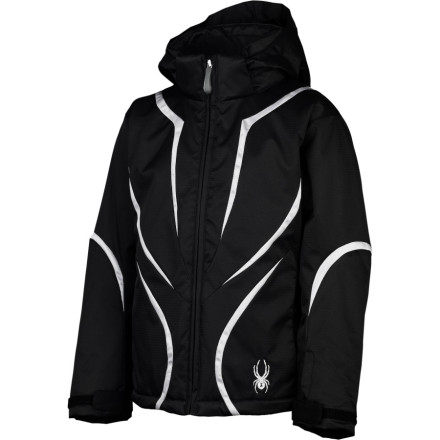 photo: Spyder Girls' Breaker Jacket snowsport jacket