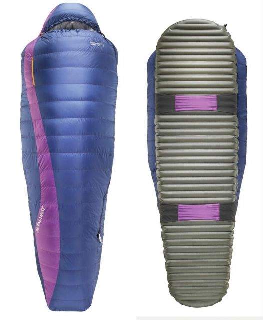 photo: Therm-a-Rest Adara HD 3-season down sleeping bag