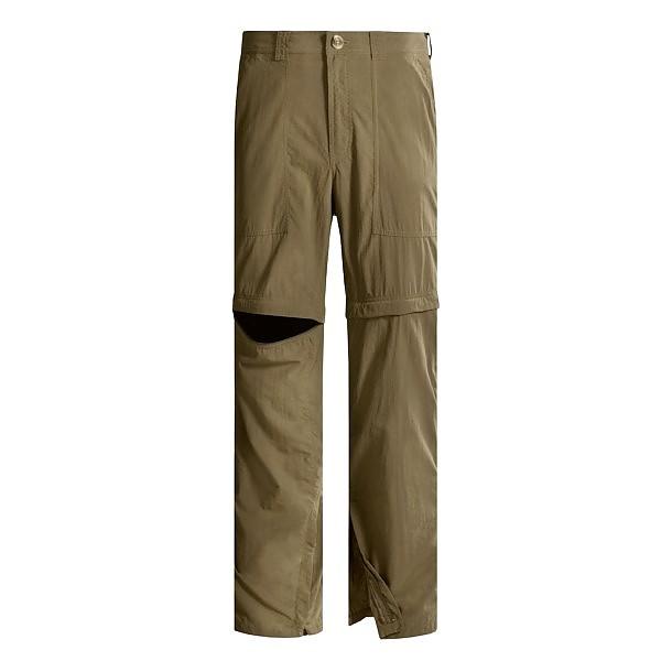 photo: ExOfficio Men's Insect Shield Convertible Pant hiking pant