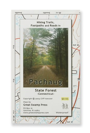 Great Swamp Press Pachaug State Forest Trail Map - Connecticut