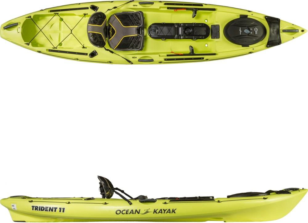photo: Ocean Kayak Trident 11 Angler sit-on-top kayak