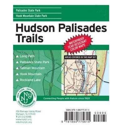 photo: NY-NJ Trail Conference Hudson/Palisades Trails us northeast paper map