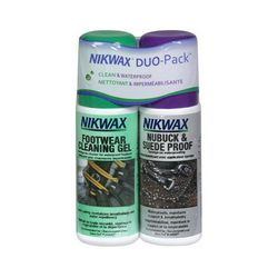 photo: Nikwax Footwear DuoPack Nubuck & Suede footwear cleaner/treatment