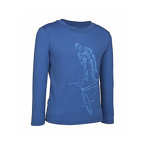photo: Icebreaker LS Top Boarder base layer top