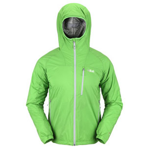 photo: Rab Strata Hoodie synthetic insulated jacket