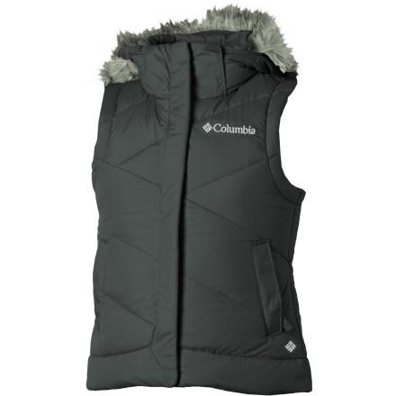 photo: Columbia Snow Trinity Vest down insulated vest
