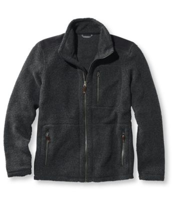 L.L.Bean Guidepoint Wool Fleece Jacket