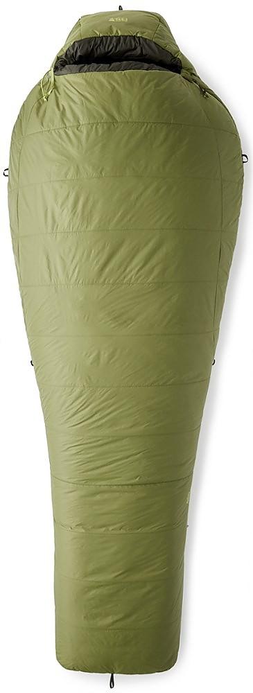 photo: REI Men's Lumen +25 3-season synthetic sleeping bag