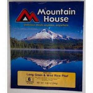 photo: Mountain House Wild Rice & Mushroom Pilaf vegetarian entrée