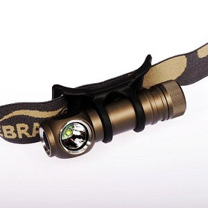 photo of a ZebraLight headlamp
