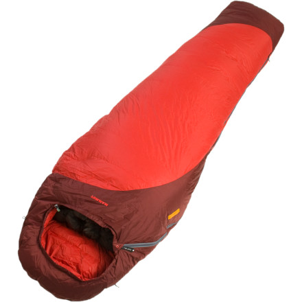photo: Mammut Altina -10 Degree Down Sleeping Bag cold weather down sleeping bag