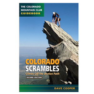photo: The Mountaineers Books Colorado Scrambles: Climbs off the Beaten Path us mountain states guidebook
