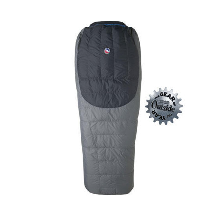 photo: Big Agnes Yampa 40° warm weather down sleeping bag