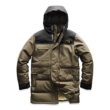 photo: The North Face Biggie McMurdo Parka down insulated jacket