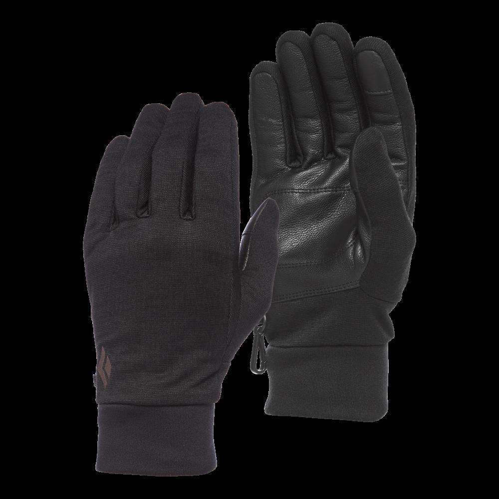 photo: Black Diamond HeavyWeight WoolTech Liner fleece glove/mitten
