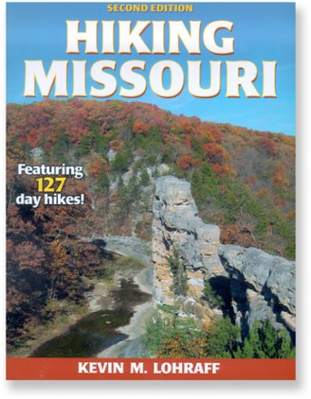photo: Human Kinetics Hiking Missouri - 2nd Edition us midwest guidebook