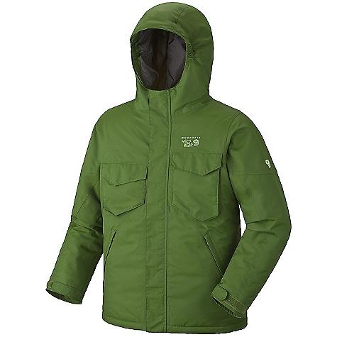 photo: Mountain Hardwear Mancora Jacket snowsport jacket