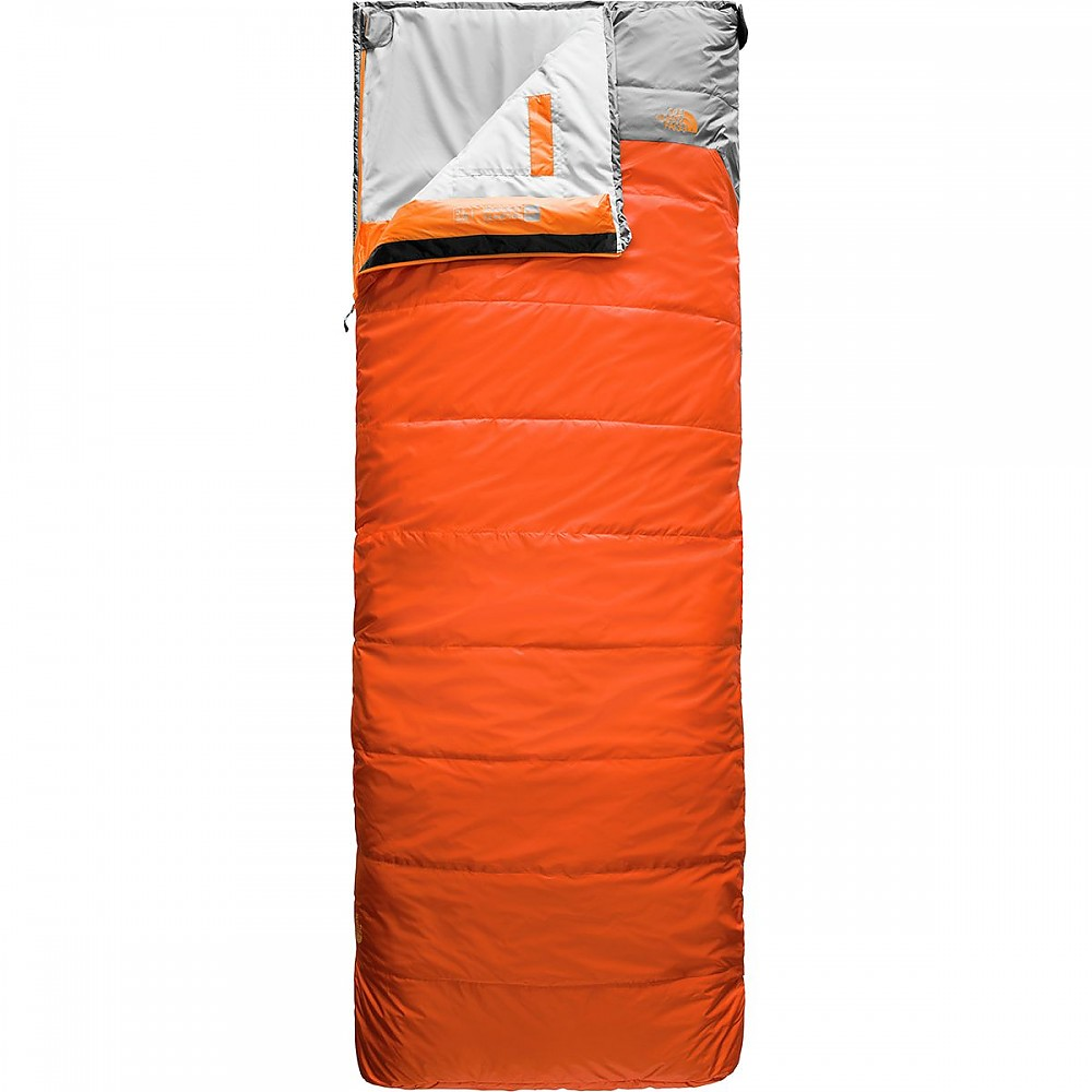 photo: The North Face Dolomite 40F/4C warm weather synthetic sleeping bag