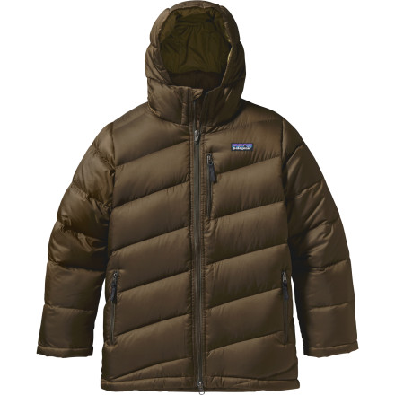photo: Patagonia Boys' Down Parka down insulated jacket