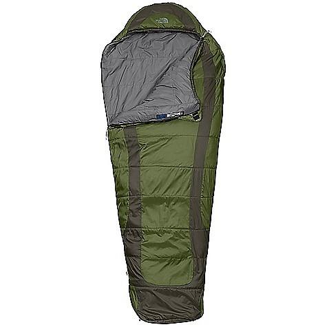 photo: The North Face Bighorn 3-season synthetic sleeping bag