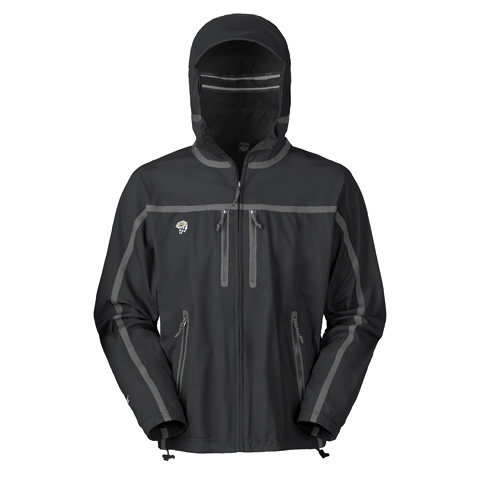 photo: Mountain Hardwear Men's Hooded Synchro Jacket soft shell jacket