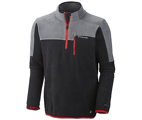 photo: Columbia Crosslight 1/2 Zip fleece top
