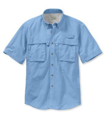 L.L.Bean Tropicwear Shirt, Short-Sleeve