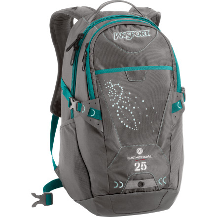 photo: JanSport Cathedral daypack (under 2,000 cu in)