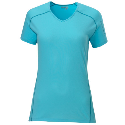 photo: Salomon Minim T short sleeve performance top