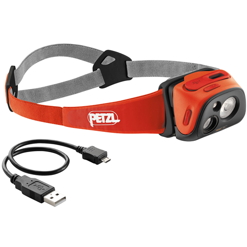 photo: Petzl Tikka R+ headlamp