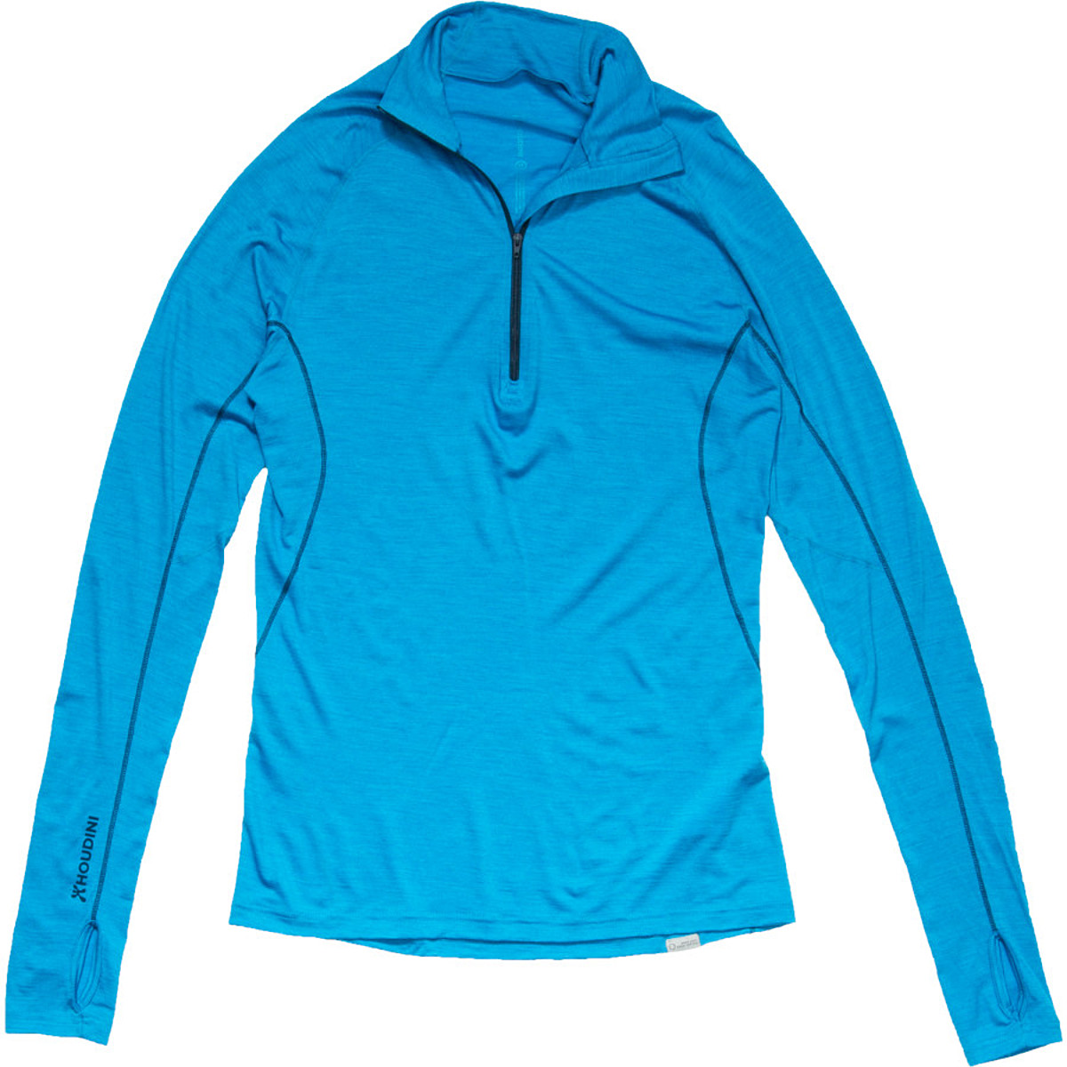 photo: Houdini Airborn Zip base layer top