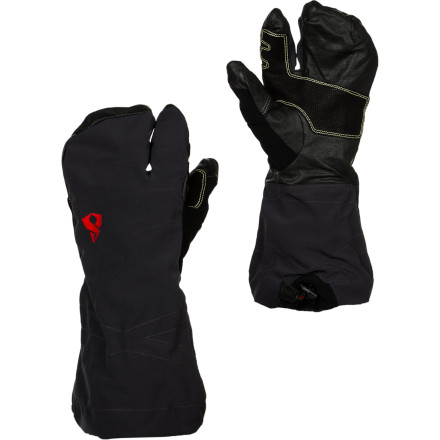 photo: Stoic Welder Trigger Mitt soft shell glove/mitten