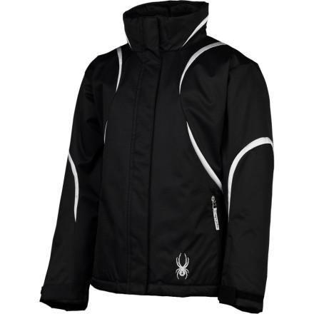 photo: Spyder Girls' Lightning Jacket synthetic insulated jacket