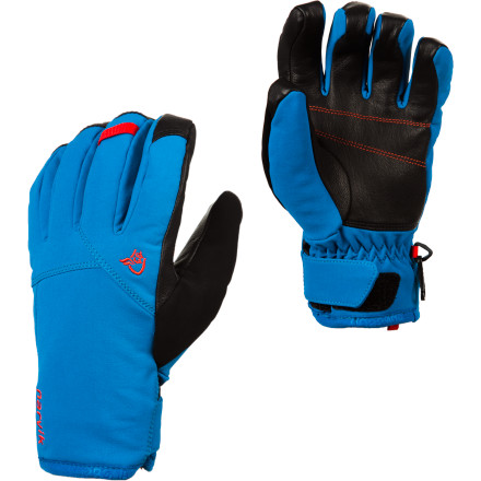 photo: Norrona Narvik Dri1 Insulated Short Glove insulated glove/mitten