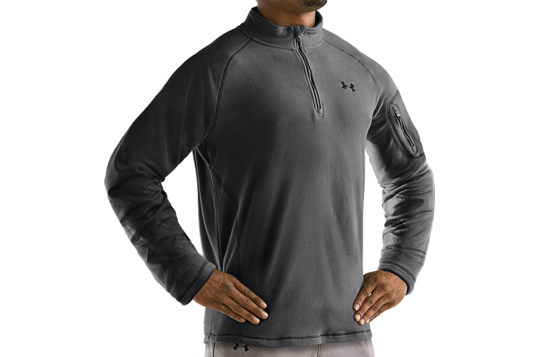 photo: Under Armour Men's Hundo 1.0 1/4 Zip base layer top