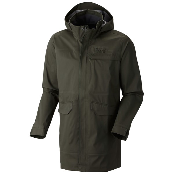 photo: Mountain Hardwear Burdock Jacket waterproof jacket