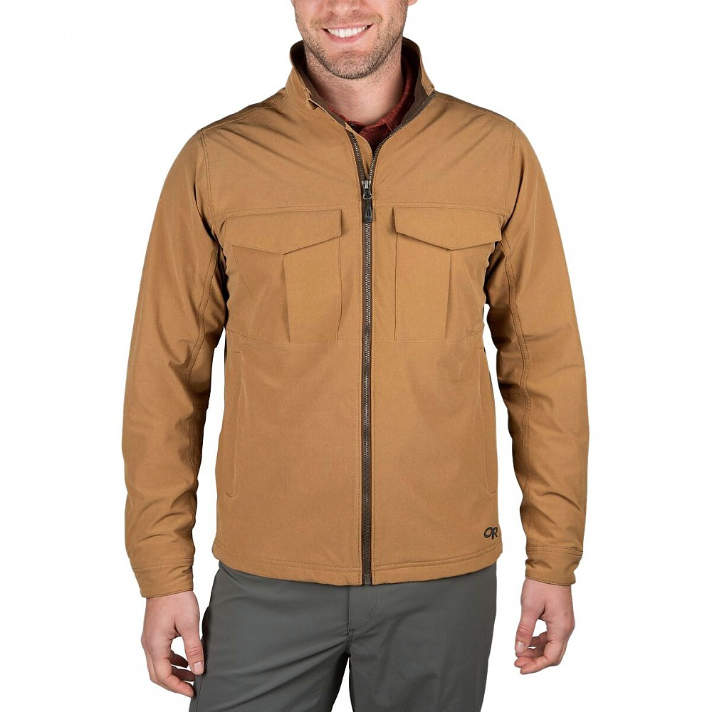 photo: Outdoor Research Prologue Field Jacket soft shell jacket