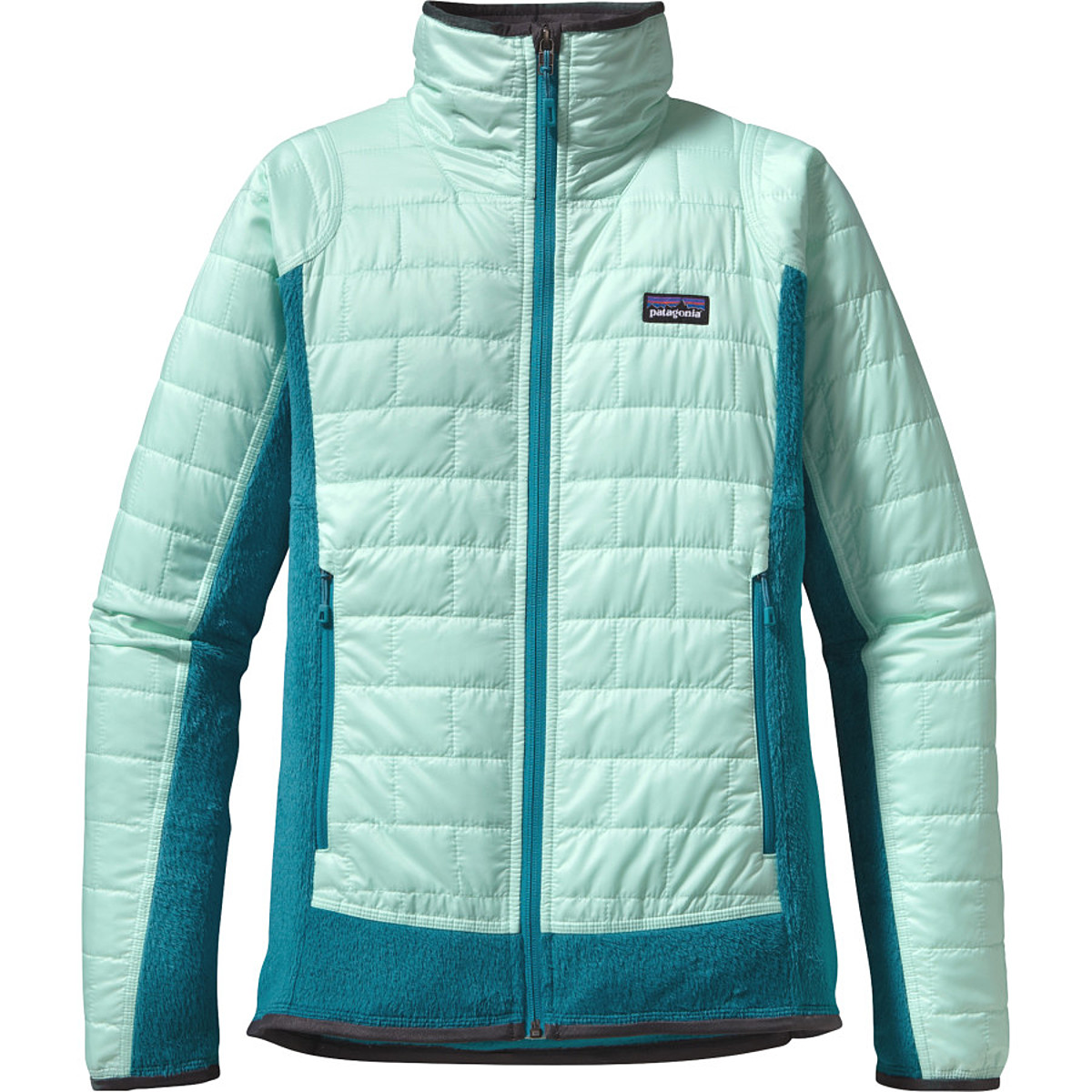 photo: Patagonia Women's Nano Puff Hybrid Jacket synthetic insulated jacket