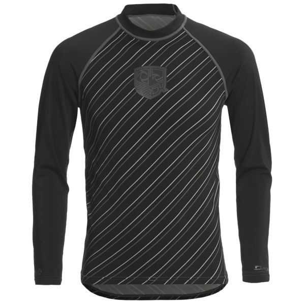 photo: DaKine Striped Rashguard Long-Sleeve long sleeve rashguard