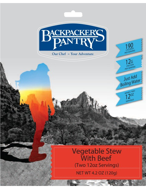 photo: Backpacker's Pantry Beef Stew meat entrée