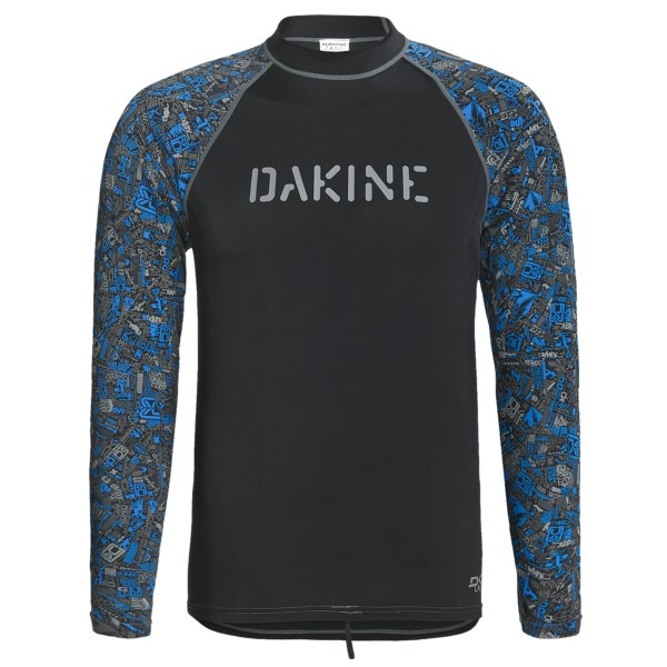 photo: DaKine Chop Shop Rash Guard - Long Sleeve long sleeve rashguard