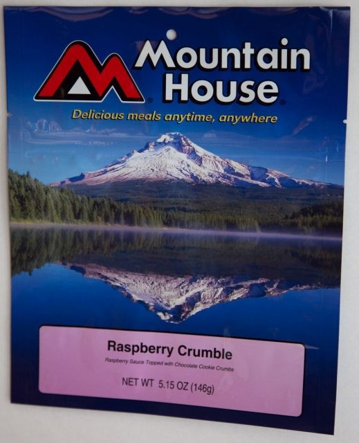 Mountain House Raspberry Crumble
