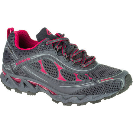photo: Lowa Women's S-Crown Mesh trail running shoe