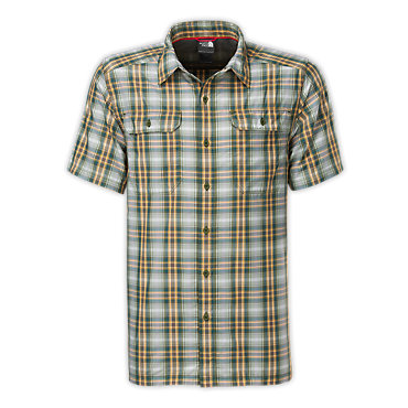 photo: The North Face Short-Sleeve Pine Knot Woven hiking shirt