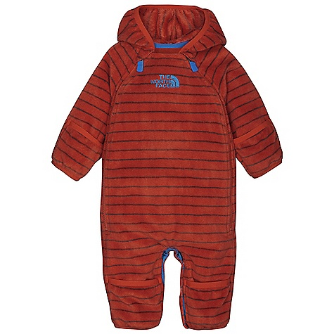 photo: The North Face Striped Buttery Bunting kids' snowsuit/bunting