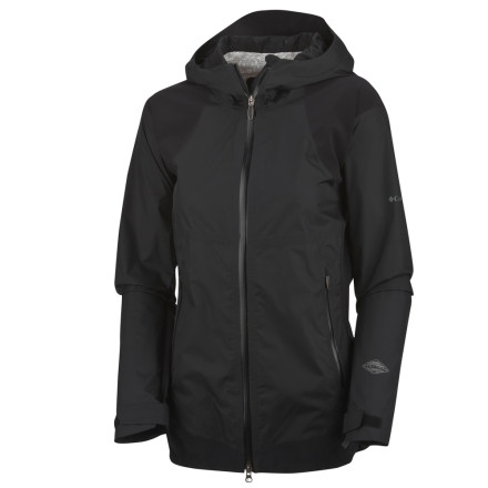 photo: Columbia Mountain Mix Shell waterproof jacket